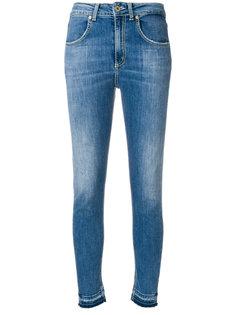 джинсы скинни с высокой талией Dondup