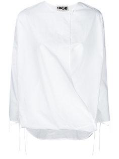 блузка с запахом Hache
