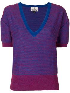 deep v-neck jumper Vivienne Westwood Red Label
