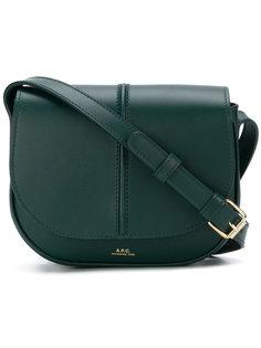 сумка на плечо с логотипом A.P.C.