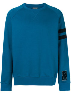 distressed stripe sweatshirt Lanvin