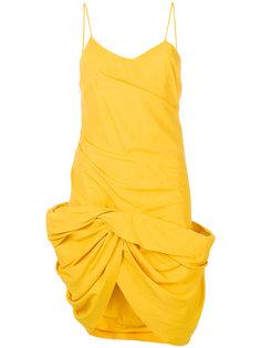 присборенное платье  Jacquemus