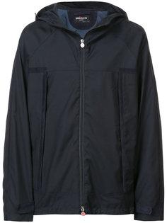 водоотталкивающая куртка с капюшоном Kiton