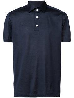 рубашка-поло с короткими рукавами Kiton