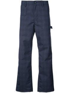 брюки Carhart в клетку Junya Watanabe Comme Des Garçons Man