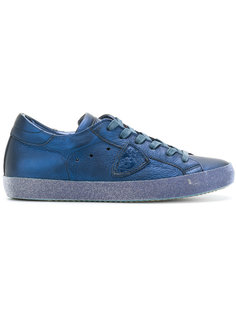 кроссовки на шнуровке в стиле casual Philippe Model