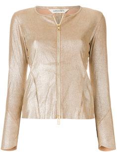куртка с отделкой металлик на молнии Giorgio Brato