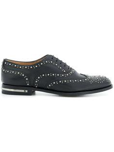декорированные туфли Burwood Churchs
