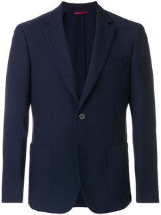 однобортный пиджак Fay