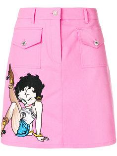 юбка с принтом Betty Boop Moschino
