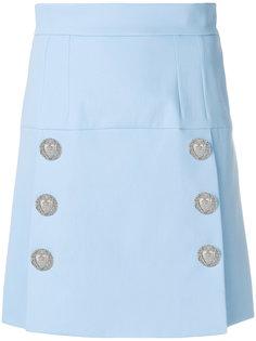 А-образная юбка на пуговицах Sacred Heart Dolce & Gabbana