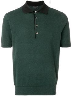 рубашка-поло с контрастным воротником Ps By Paul Smith