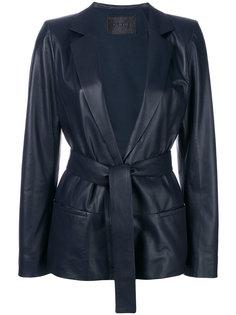 приталенный пиджак с поясом Drome