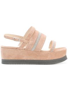 сандалии на платформе Fabiana Filippi