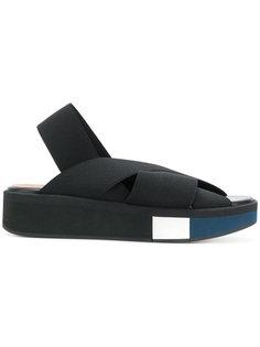 сандалии на полоской подошве Robert Clergerie