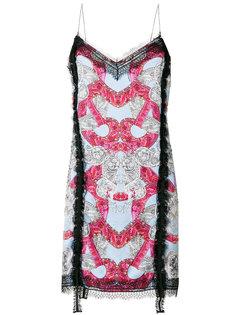 платье с кружевной отделкой  Versace