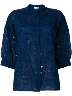 рубашка с вышивкой Paul & Joe