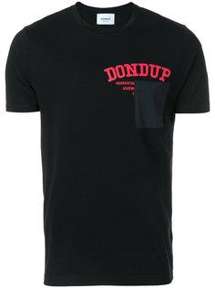 футболка с принтом-логотипом Dondup