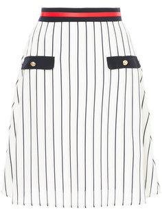 striped a-line skirt  Loveless