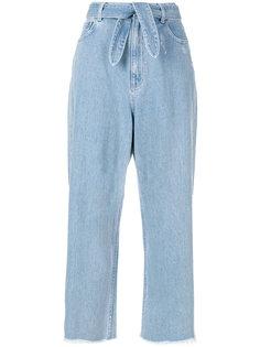 укороченные расклешенные брюки Zimmermann
