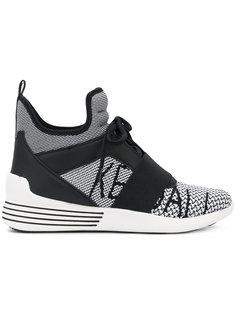 кроссовки-хайтопы Kendall+Kylie