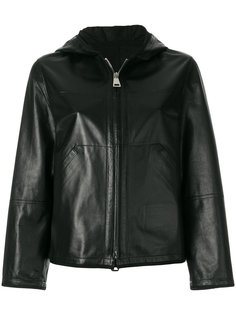 hooded zip up jacket Sylvie Schimmel