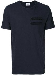 футболка с нашивками Dondup