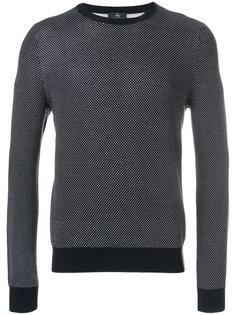 свитер с узором в горох Fay