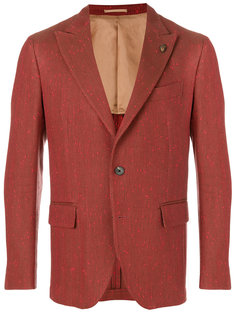 пиджак с узором-елочкой Gabriele Pasini