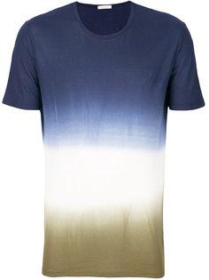 футболка с градиентным узором Paolo Pecora