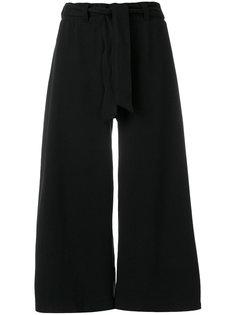 укороченные широкие брюки  Puma