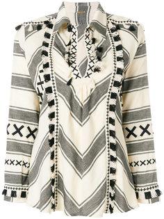 блузка с бахромой Dodo Bar Or