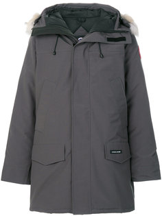zipped hooded parka Canada Goose
