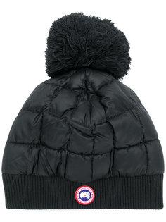 шапка-бини с помпоном Canada Goose