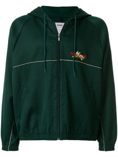 embroidered detail hooded jacket Doublet