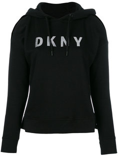 designer cut hoodie DKNY