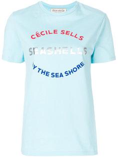 футболка Seashells Être Cécile