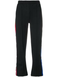 укороченные брюки с полоску сбоку  Être Cécile