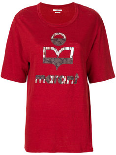 футболка с принтом-логотипом Isabel Marant Étoile