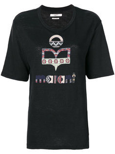 футболка с принтом Isabel Marant Étoile