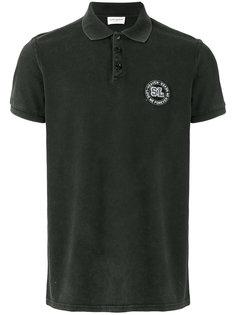 рубашка-поло с логотипом Saint Laurent