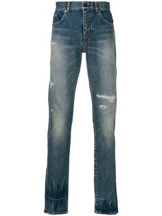 классические джинсы кроя слим Saint Laurent