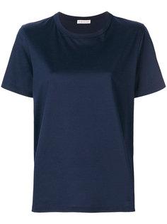 футболка с отворотами на манжетах  Moncler