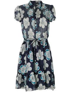 платье с цветочным принтом Emporio Armani