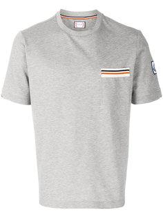 футболка с нагрудным карманом Moncler Gamme Bleu