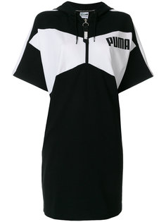 платье-толстовка с логотипом  Puma