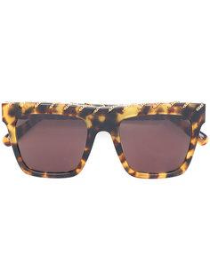 солнцезащитные очки с эффектом черепашьего панциря Stella Mccartney Eyewear