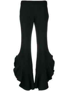 расклешенные брюки с оборками Giambattista Valli