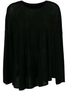 асимметричная блузка со сборками Giambattista Valli