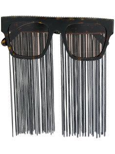 солнцезащитные очки с бахромой Stella Mccartney Eyewear